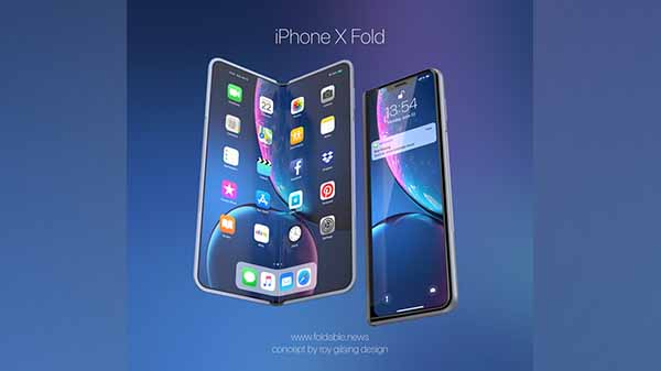 That's how foldable iPhone could look like, if Apple ever makes one