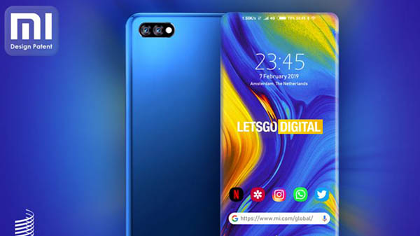 Xiaomi patent shows a truly bezel-less smartphone display