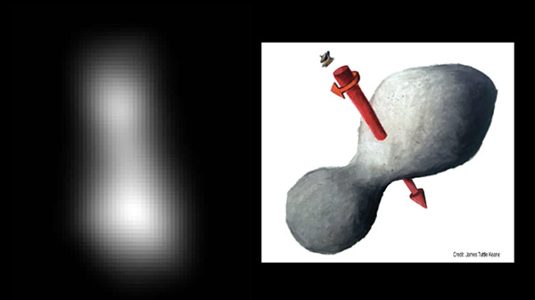 New Ultima Thule images reveal new shape of distant object