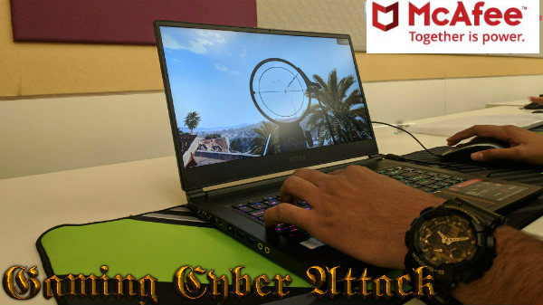 Online gaming heightens the risk of cyberattacks on players