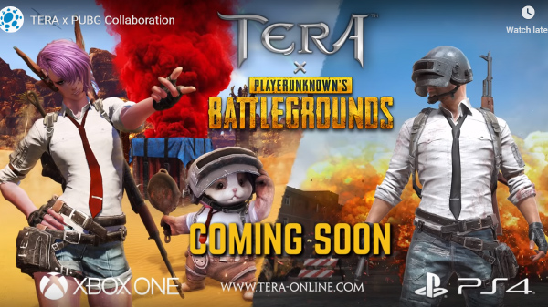 Tera to have PUBG themed costumes, supply drops and more in March