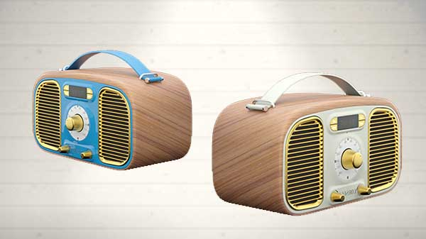 Damson launches CORSECA Eternia retro Bluetooth speaker for Rs 7,999