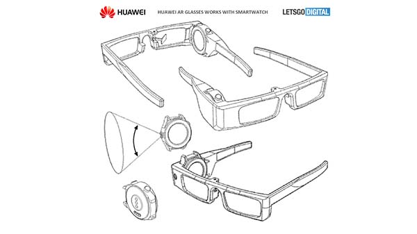Huawei patent shows AR glasses with a smartwatch connection