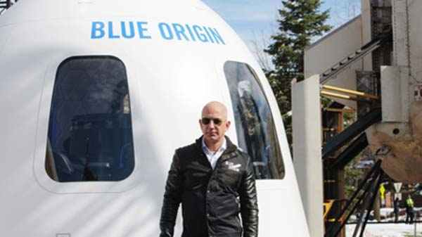 Jeff Bezos Plans To Use Ice Water As Rocket Fuel For Space Missions