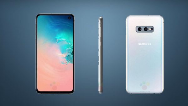 Samsung Galaxy S10e render reveals smaller display and Bixby button