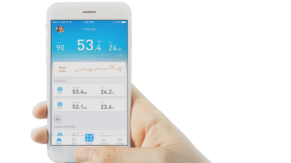 Picooc Mini Smart Health Scale offers comprehensive health information