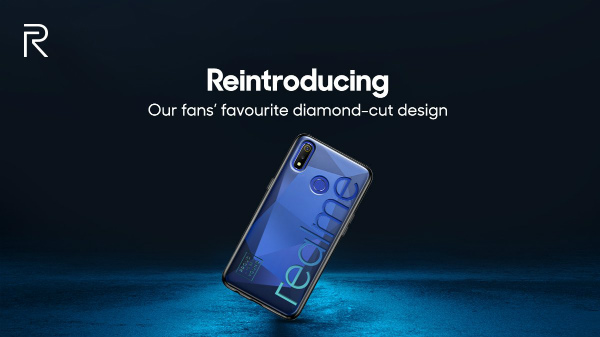 Realme 3 will feature the iconic Diamond Cut design with a dual camera
