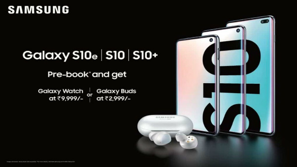 Samsung Galaxy S10e, S10, S10+ India pricing is here