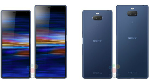 Sony Xperia 10 and Xperia 10 Plus renders, specs, price emerge online