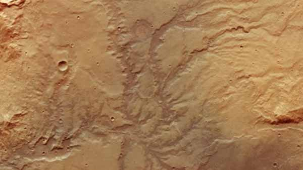 ESA releases images revealing Mars' ancient waterways