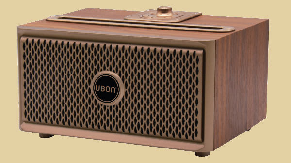 UBON SP 50 Wooden Wireless Vintage speaker launched for Rs 2,990