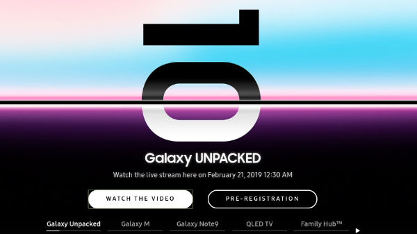 Samsung Galaxy S10 series launch: How to watch the live stream