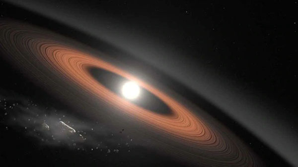 NASA scientist discovers oldest white dwarf with dust rings