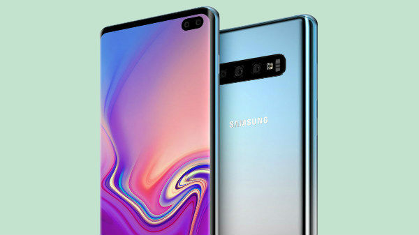 How to hide display hole on the Galaxy S10 smartphone