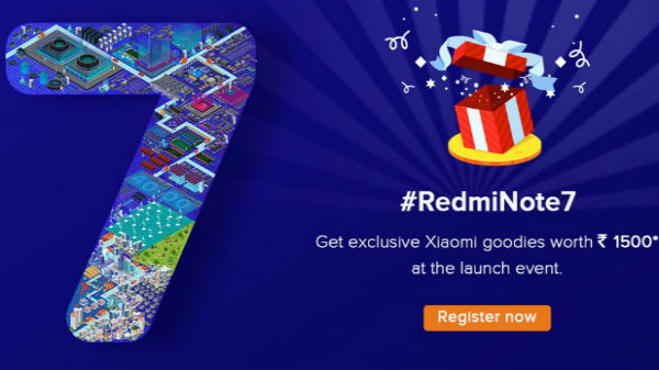 Xiaomi Redmi Note 7 India launch: You can buy tickets for Rs. 480