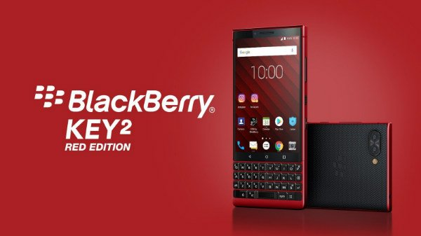 BlackBerry announces KEY2 Red Edition with 6GB RAM and 128GB storage