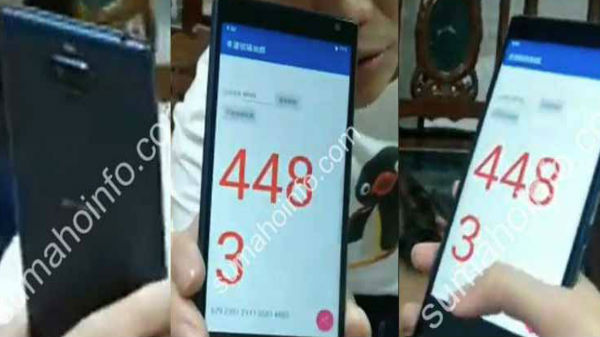 Sony Xperia XA3 hands-on images leaked online