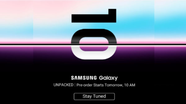 Samsung Galaxy S10 series to be up for pre-order via Flipkart from February 22