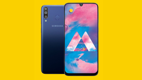 Samsung Galaxy M30 will have a gradient design with 6 GB of RAM