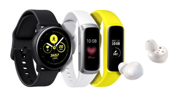 Samsung launches three new wearable alongside its flagship phones