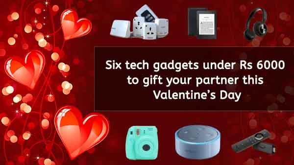 Six gadgets under Rs 6000 to gift your partner this Valentine's Day