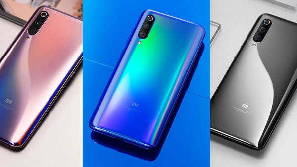 Xiaomi Mi 9 colors, RAM and storage options are out