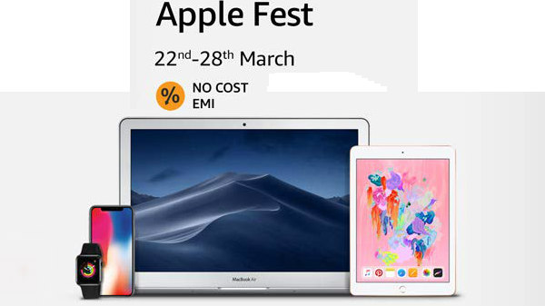 Amazon Apple Fest: Offers on iPhones, MacBook, iPad and more