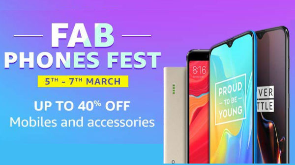 Amazon FAB Phone Fest: Avail up to 40% off on smartphones