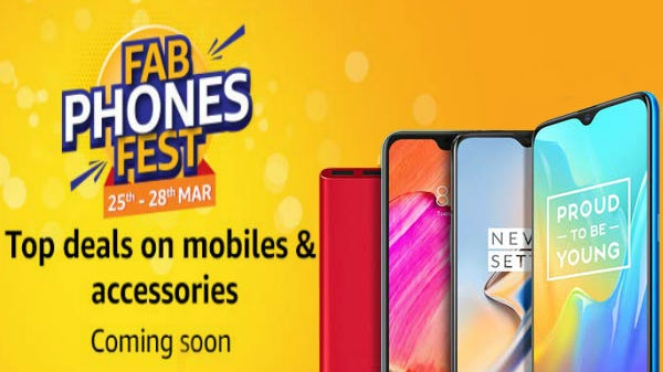 Amazon FAB Phones FEST: Preview offers on smartphones