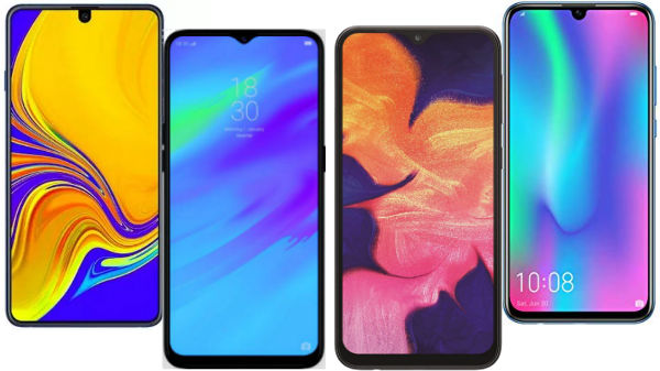Best smartphones with 6-inch display and Android Pie under Rs. 20,000