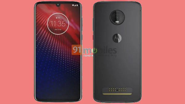 Bezel-less Moto Z4 with Snapdragon 855 SoC spotted online