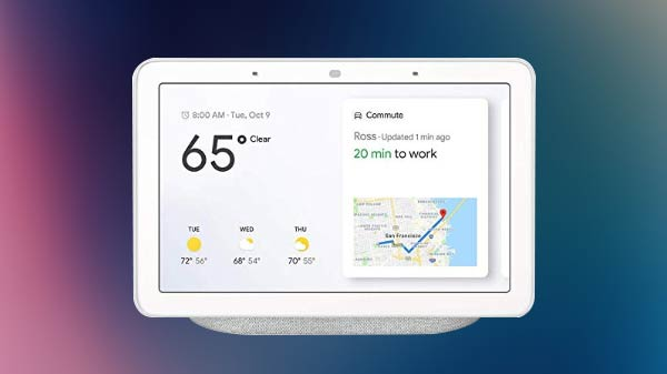 Google Nest Hub Max leak ahead of official launch with built-in camera