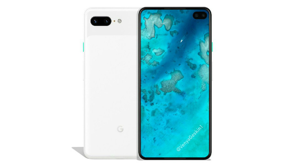 Google Pixel 4 XL render suggest a punch-hole display