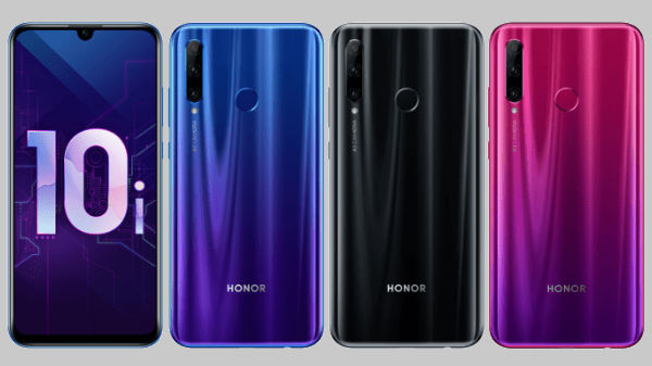 Honor 10i with three rear cameras and Kirin 710 SoC  announced