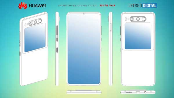 Huawei patent reveals smartphone with dual screen