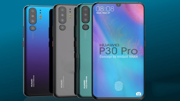 Huawei P30 Pro, P30 complete renders revealed via latest leak