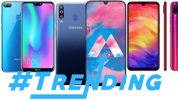 Last Week Most Trending smartphones
