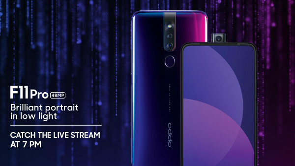 Oppo F11 Pro launch event: Catch the live streaming here