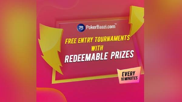 PokerBaazi launches free entry Poker tournaments to encourage players