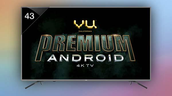 Vu launches Pixelight, UltraSmart, Premium Android TV series in India