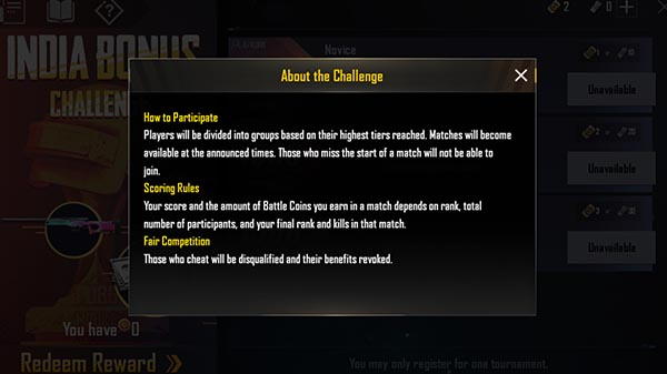 PUBG Mobile  0.11.1 update will bring Bonus Challenge: Reports