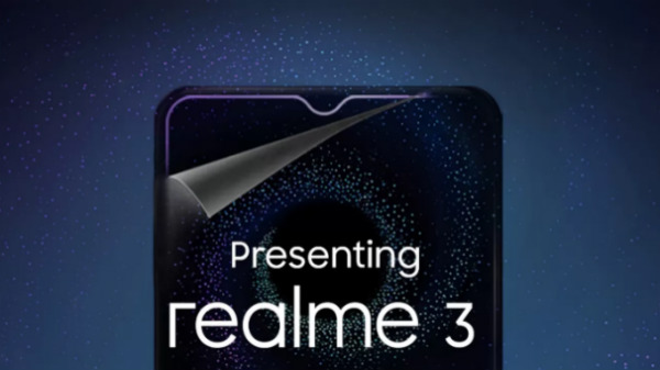 Realme 3 teased by Flipkart: Dewdrop notch, 4230mAh battery and more