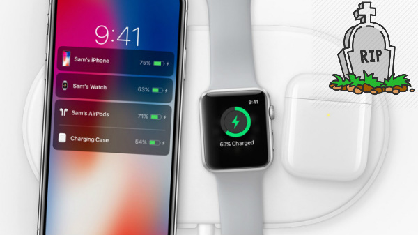 RIP AirPower: Apple officially cancels Apple AirPower