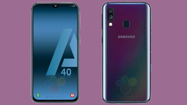 Samsung Galaxy A40 design and specifications leaked