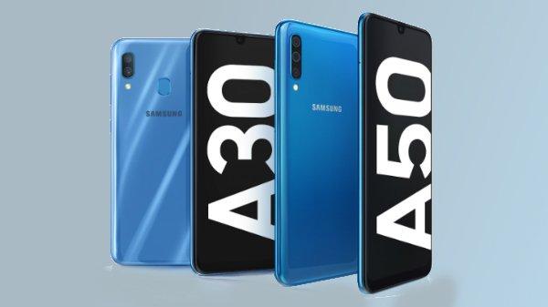 Samsung Galaxy A50, Galaxy A30 will go on sale in India tonight