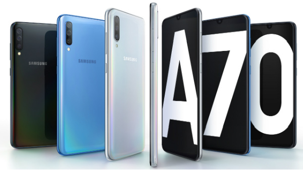 Samsung Galaxy A70 vs other smartphones offering best battery backup