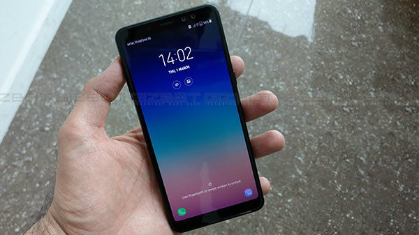 Samsung Galaxy A8+ (2018) stable Android pie update released in India