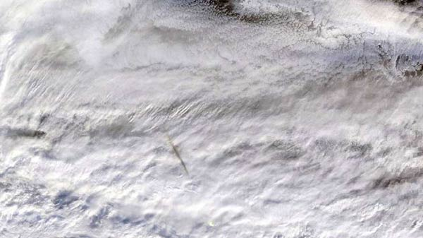 NASA releases images of meteorite that caused 173 kilotons explosion