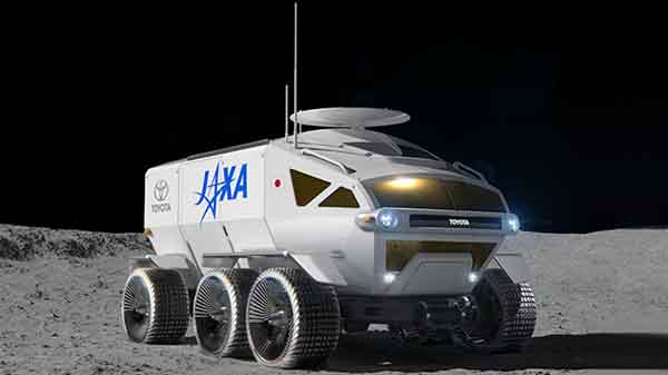 Toyota working closely with JAXA to develop manned lunar rover
