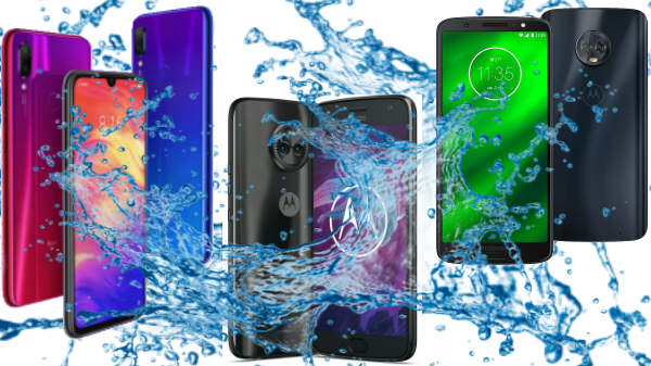 Water resistant smartphones to buy in India under Rs. 15,000